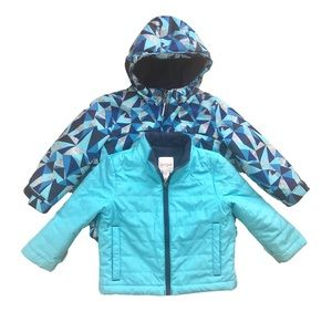 Cat & Jack Coat With Removable Jacket Size 2T
